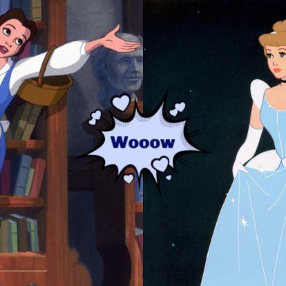 Ilyenek lennének a kedvenc sztárjaid Disney hercegnőként