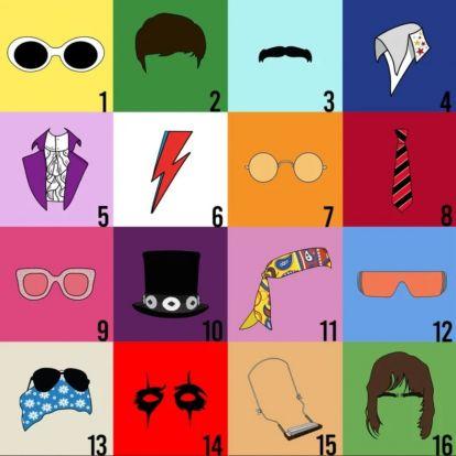 Könnyűzenei gyorsteszt: Felismered a rocksztárokat kiegészítőik alapján?