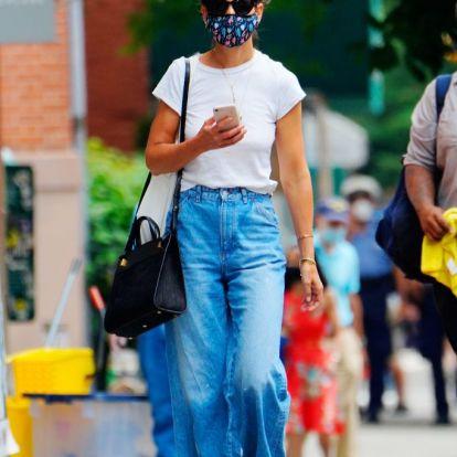 Katie Holmes az egyetlen celeb, akit maszkban is felismertünk az elmúlt négy hónapban