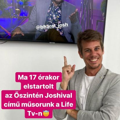 A Barátok közt Berényi Ákosa lett Joshi Bharat új műsorának producere