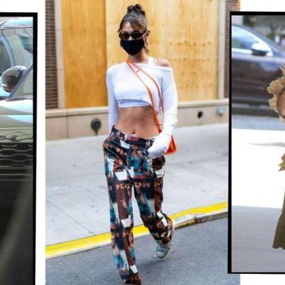 A hírességek is maszkot viselnek | Elle magazin