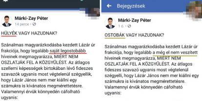 Márki-Zay és a Fidesz-szavazók: hazudik vagy rossz a memóriája?