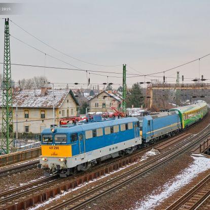 A Budapest és Hegyeshalom közötti fővonalát Európai Hálózatfinanszírozási forrásból fejleszti a MÁV