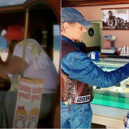 Terence Hill a pisztácia fagyis fotójával megnyerte a hetet