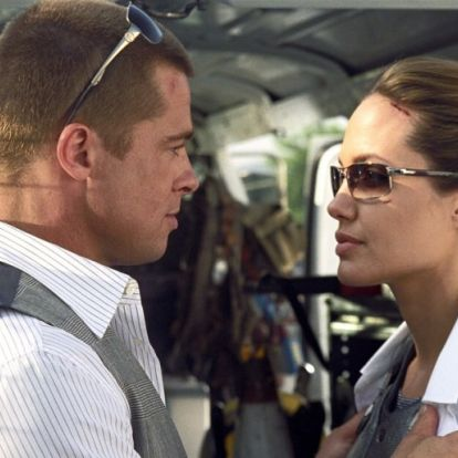Hoppá: Brad Pitt beállított Angelina Jolie-hoz