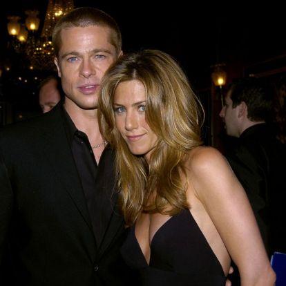 20 éve házasodott össze Brad Pitt és Jennifer Aniston