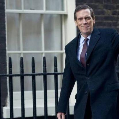 Hugh Laurie egy politikai thriller főszereplőjeként tér vissza