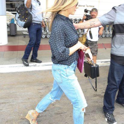 Jennifer Aniston o cómo vestir siempre bien (inlcuso en plena ola de calor)