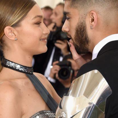 Gigi Hadid és Zayn Malik szerelmes fotóján olvadozik a net