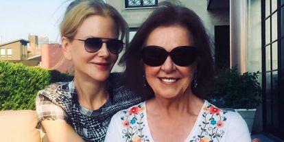 Nicole Kidman se reúne con su madre tras ocho meses sin verse