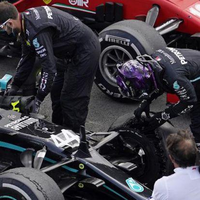 """""""Amikor Lewis Hamilton három kerékkel is nyer, be lehet zárni a boltot"""""""