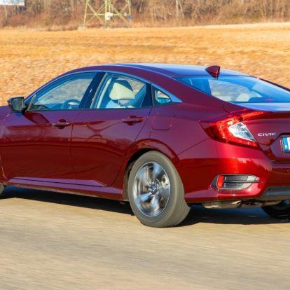 Értékmegőrző – Honda Civic Sedan 1.5 VTEC Turbo CVT teszt