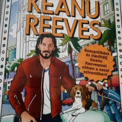 Ez már bálványimádat - Keanu Reeves színezőt lapozgattunk