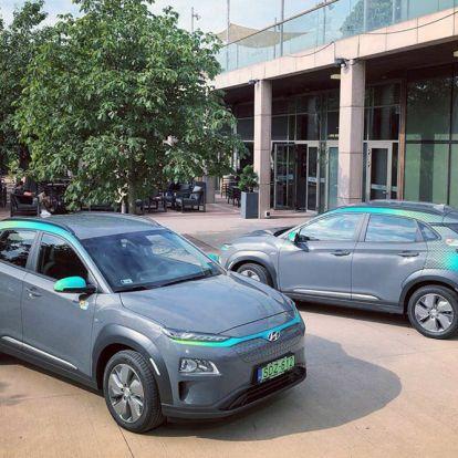 Elektromos Hyundai-jal bővül a MOL Limo flottája