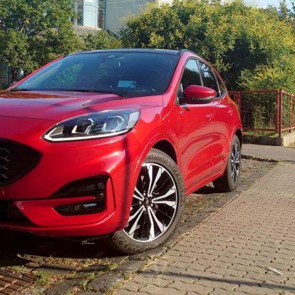 Ford Kuga: villanyosok félre, ez a hibrid mutatja az utat!