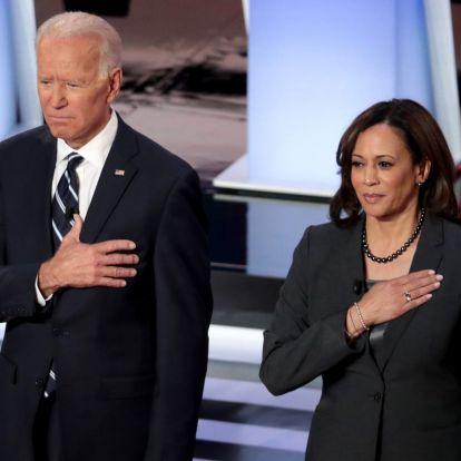 A BLM-re épít és színes bőrű, erősen balos alelnök-jelöltet választott a demokrata Joe Biden