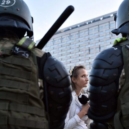 A fehérorosz tüntetők nem hagyják el az utcákat
