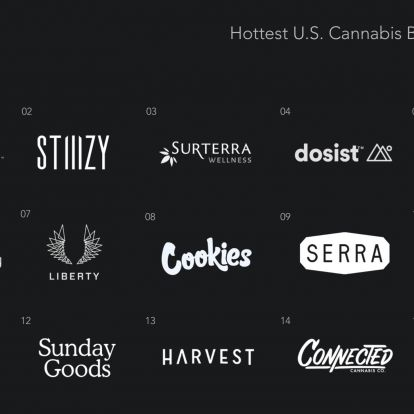 The Hottest U.S. Cannabis Retail Brands Right Now