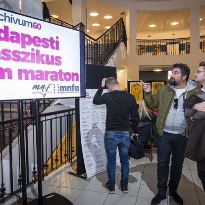 Szeptemberben újra Budapesti klasszikus filmmaraton