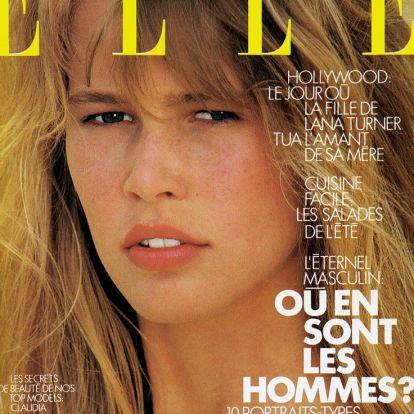 50 éves a legszerényebb szupermodell, Claudia Schiffer