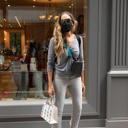 Sarah Jessica Parker vuelve al trabajo (y nos encanta su look)