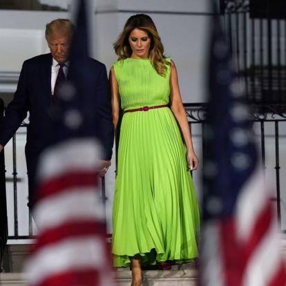 Melania Trumps antrekk latterliggjøres