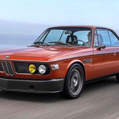 Robert Downey Jr. modernizált BMW-jénél ma nem látsz menőbbet