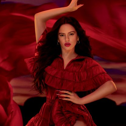 Rosalia Is MAC Cosmetics' New Viva Glam Ambassador & Her Debut Lipstick Is Characteristically Bold