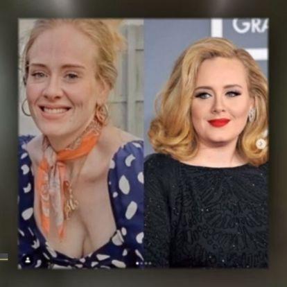 Adele bikinis fotót posztolt magáról, elképesztően sovány!
