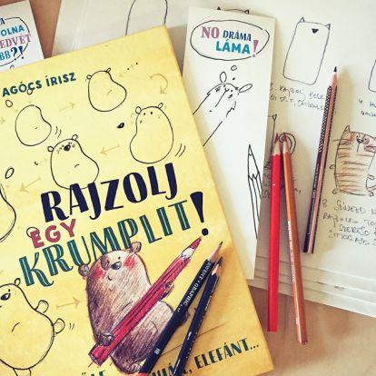 Rajzol egy krumpilt! – Agócs Írisz mindenkiből kihozza a rajzos énjét