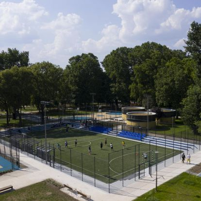 Elkészült és mától látogatható az új sportcentrum a Városligetben