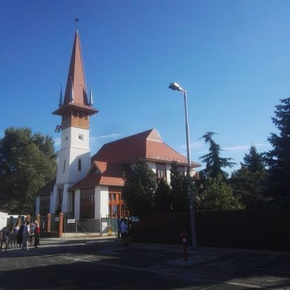 Megnéztük az új budapesti református templomot