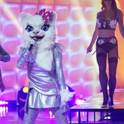 Álarcos énekes: Béres Alexandrát rejtette a Cica-álarc