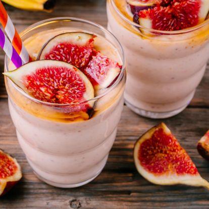 Berobbantja a fogyást és gyorsítja az emésztést: ízletes vízhajtó smoothie fügével az őszi reggelekre