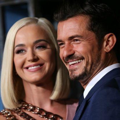 Katy Perryt először láthatjuk lánya születése óta