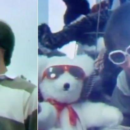 Láttad már a tini Keanu Reeves-t, ahogy egy plüssmedve fesztiválról tudósít?