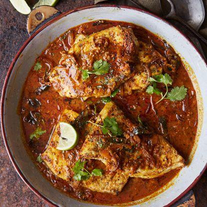 Gordon Ramsay's Kerala-style fish curry