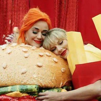 Itt a bizonyíték, hogy Katy Perry és Taylor Swift már nem gyűlöli egymást
