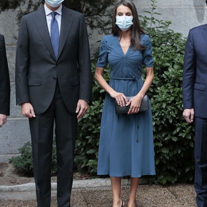 Doña Letizia recupera por tercera vez aquel vestido 'made in Italy' que conquistó a la prensa