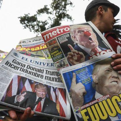 Trumpot már négy éve sem szerették az újságok, mégis nyert