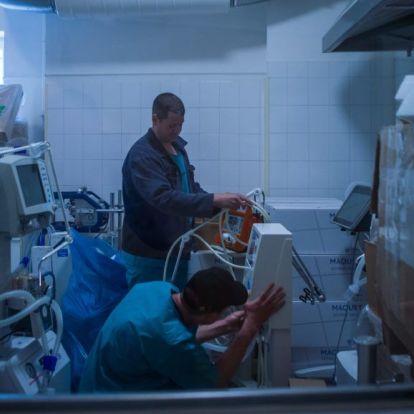 Főorvos: minden, intenzív terápiás szakvizsgával rendelkező ember ért a lélegeztetőgépekhez