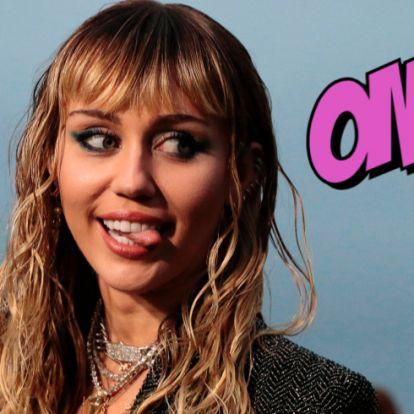 OMG: mi történik Miley Cyrus hajával?