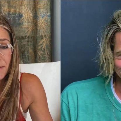 Ez zajlott valójában Brad Pitt és Jennifer Aniston közös forgatásának kulisszái mögött
