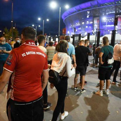 Szigort ígértek, mégis lazára vették a biztonsági intézkedéseket a Szuperkupa-döntőn