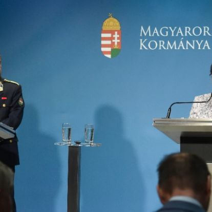 Az operatív törzs online sajtótájékoztatója - ÉLŐBEN a Hír TV műsorán