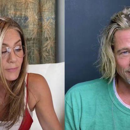 Utjeha za kišni dan: pogledajte ovaj Jennifer Aniston i Brad Pitt reunion