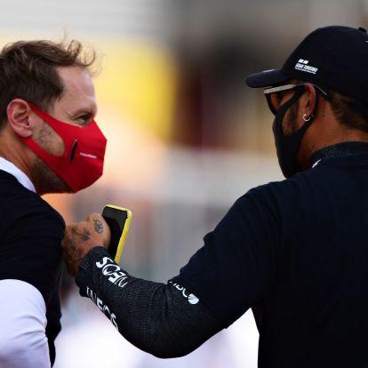 F1: Hamilton elszomorítja Vettelt