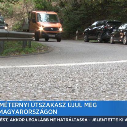 70 kilométernyi útszakasz újul meg Észak-Magyarországon