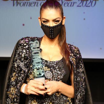 Rendhagyó ünneplés: különleges maszkokban parádéztak a sztárok a Glamour-gálán