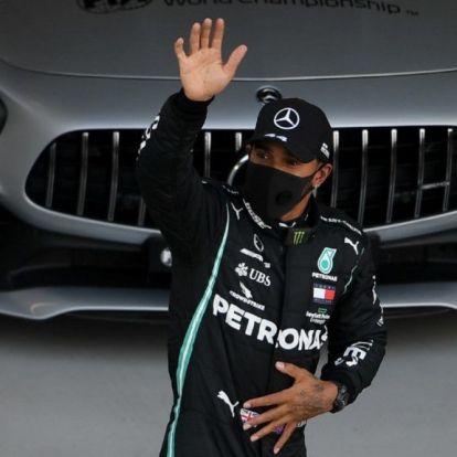 Hamilton majdnem kiesett az Orosz Nagydíj időmérőjén